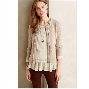 Anthropologie Angel of the North Cardigan 💝
